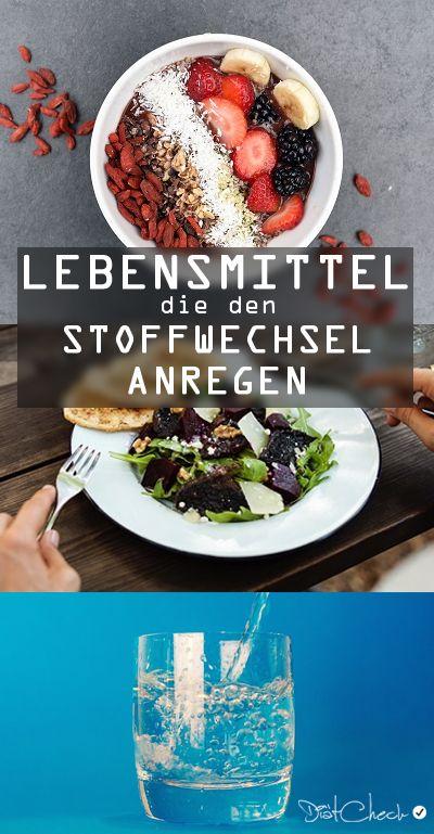 Stoffwechsel anregen Lebensmittel - Liste und..