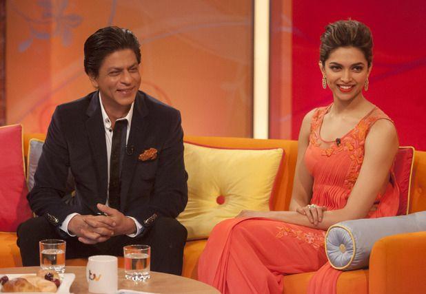 Deepika Padukone and Shahrukh Khan in London | Shahrukh ...