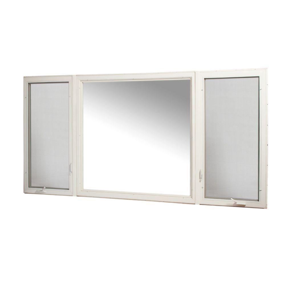 TAFCO WINDOWS 119 in. x 60 in. Vinyl Casement Window with ...