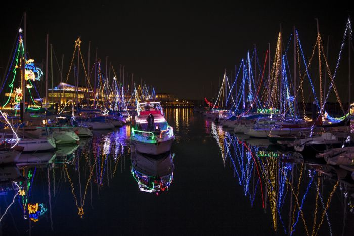 Image Result For Marina Christmas Lights Christmas Lights Christmas House Lights Best Christmas Lights