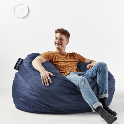 Big Joe Fuf Bean Bag Chair Upholstery: Cobalt   Http://delanico.