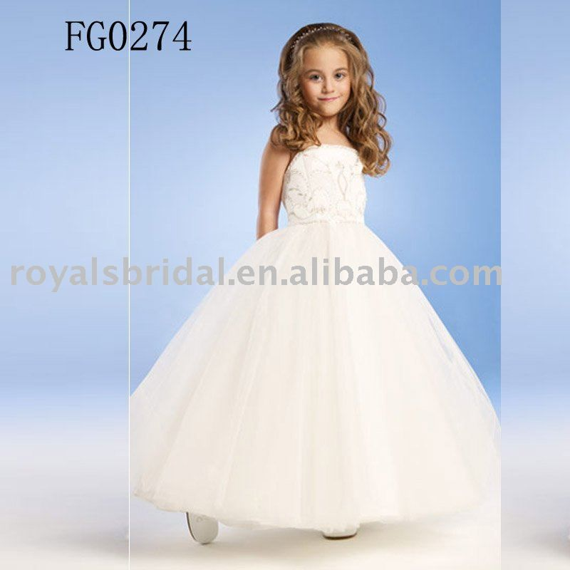 Small girl in party dress kids and education pinterest kid bridesmaid dresses a gown a dress worn out to your friend unique evening her wedding junglespirit Images