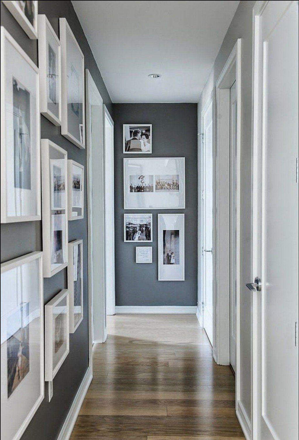 Idee Deco Couloir Moderne couloir gris et blanc :idées déco et conseils pour un