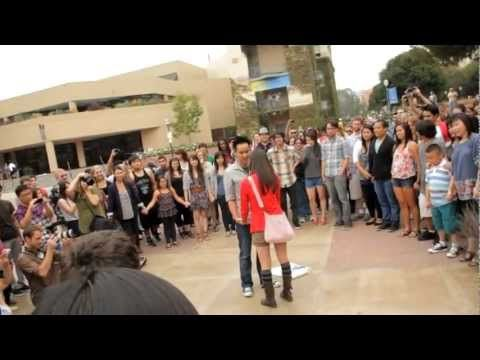 Best Proposal Ever Flash Mob Choice Image Proposal Template Design