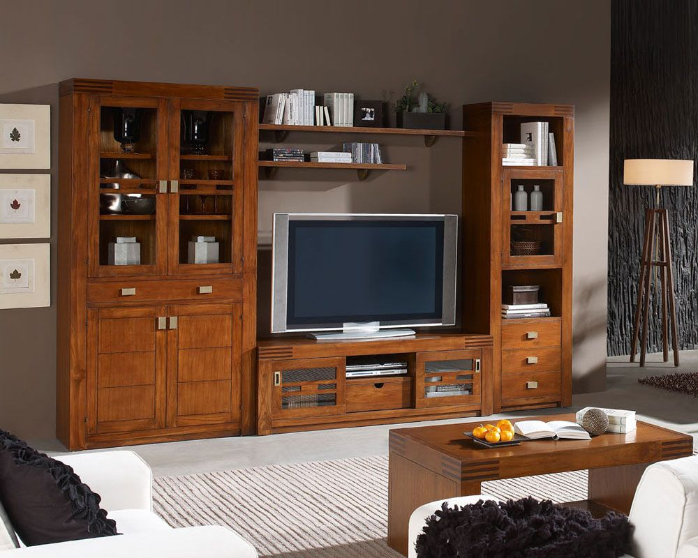 PAG10-11b | Mueble colonial | Pinterest | Salons, TVs and Living ...