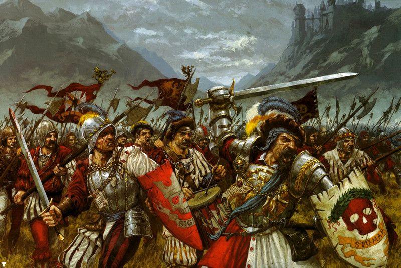 Resultado de imagem para warhammer empire artwork