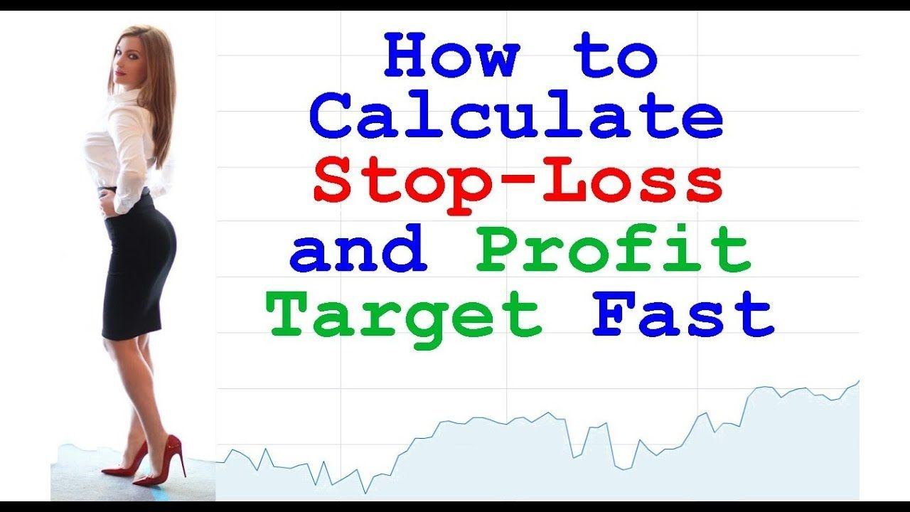 How to calculate stop loss and take profit easily set