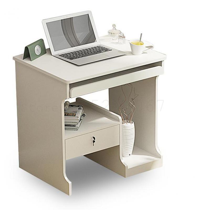 Modern Minimalist Computer Desk Desktop Home Desk Child Study Desk Small Apartment In 2020 Minimalist Computer Desk Home Desk Furniture