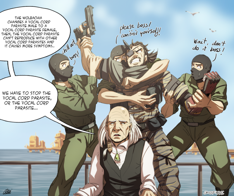 And Yet! Another Drawing About Metal Gear Solid V XD