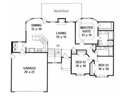 House Plans from 1200 to 1300 square feet