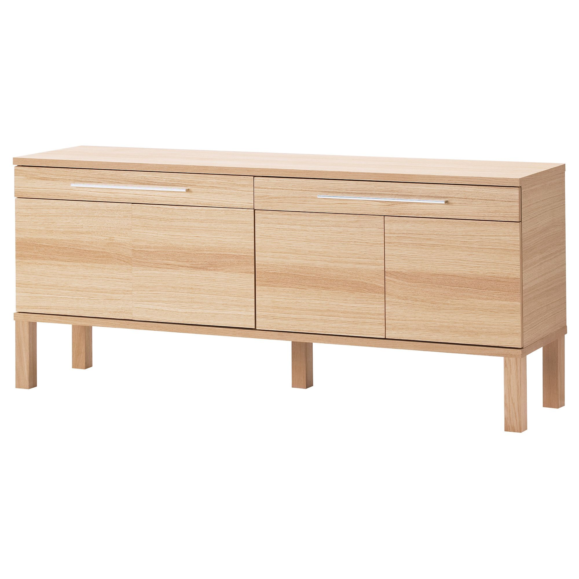 Buffet table furniture ikea -  269 Bjursta Sideboard Oak Veneer Ikea