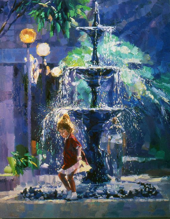Image result for फव्वारा paintings