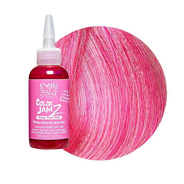 Beyond The Zone Color Jamz Semi Permanent Hair Party Time Pink