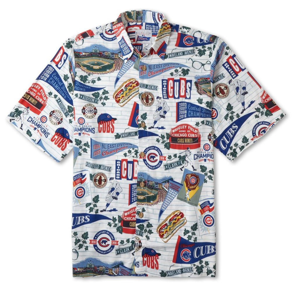 Chicago Cubs Hawaiian Shirt Limited Edition by Reyn Spooner ... 2575ad45e