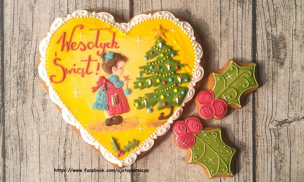 Girl with a christmas tree | Cookie Connection