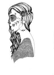 Sugar Skull Drawings Image From Fansshare Photograph Tumblr
