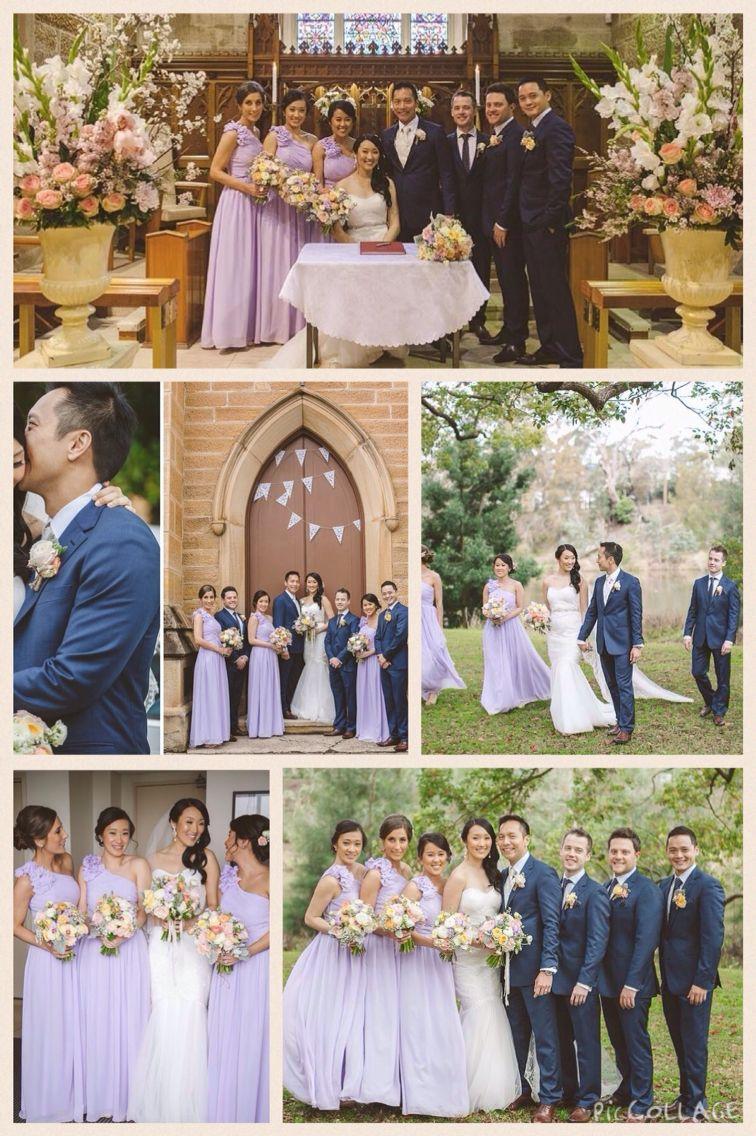 Perfect Wedding Colors Lavender And Navy Lavendar Wedding