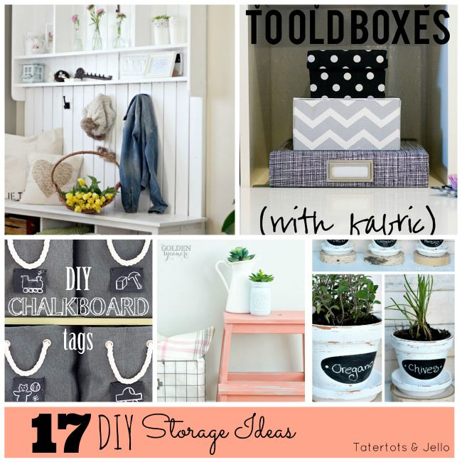 Great Ideas - 15 DIY Storage Projects!