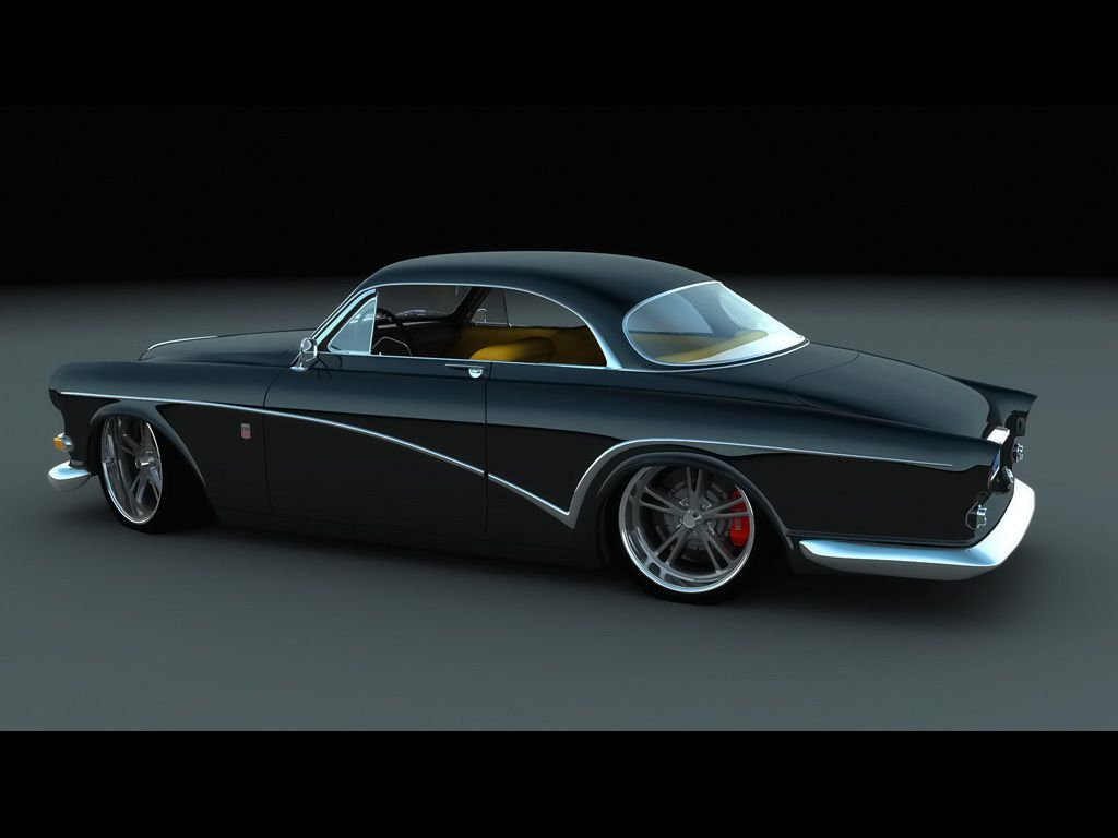 This A Custom Volvo Coupe Design By Bo Zolland For A Custom Car And Volvo Collector In Arizona