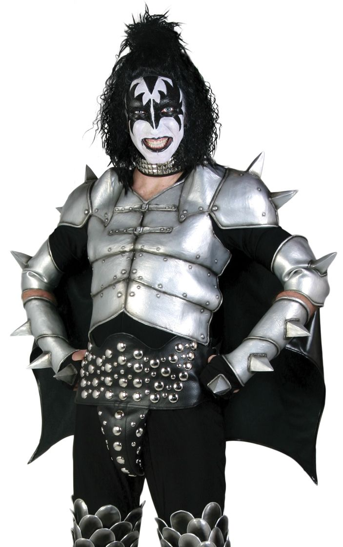gene simmons kiss boots. kiss adult costume - gene simmons destroyer kiss boots