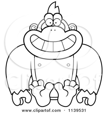 Vector Outlined Coloring Page By Cory Thoman 1139531 Cartoon Clip Art Coloring Pages Clip Art Pictures