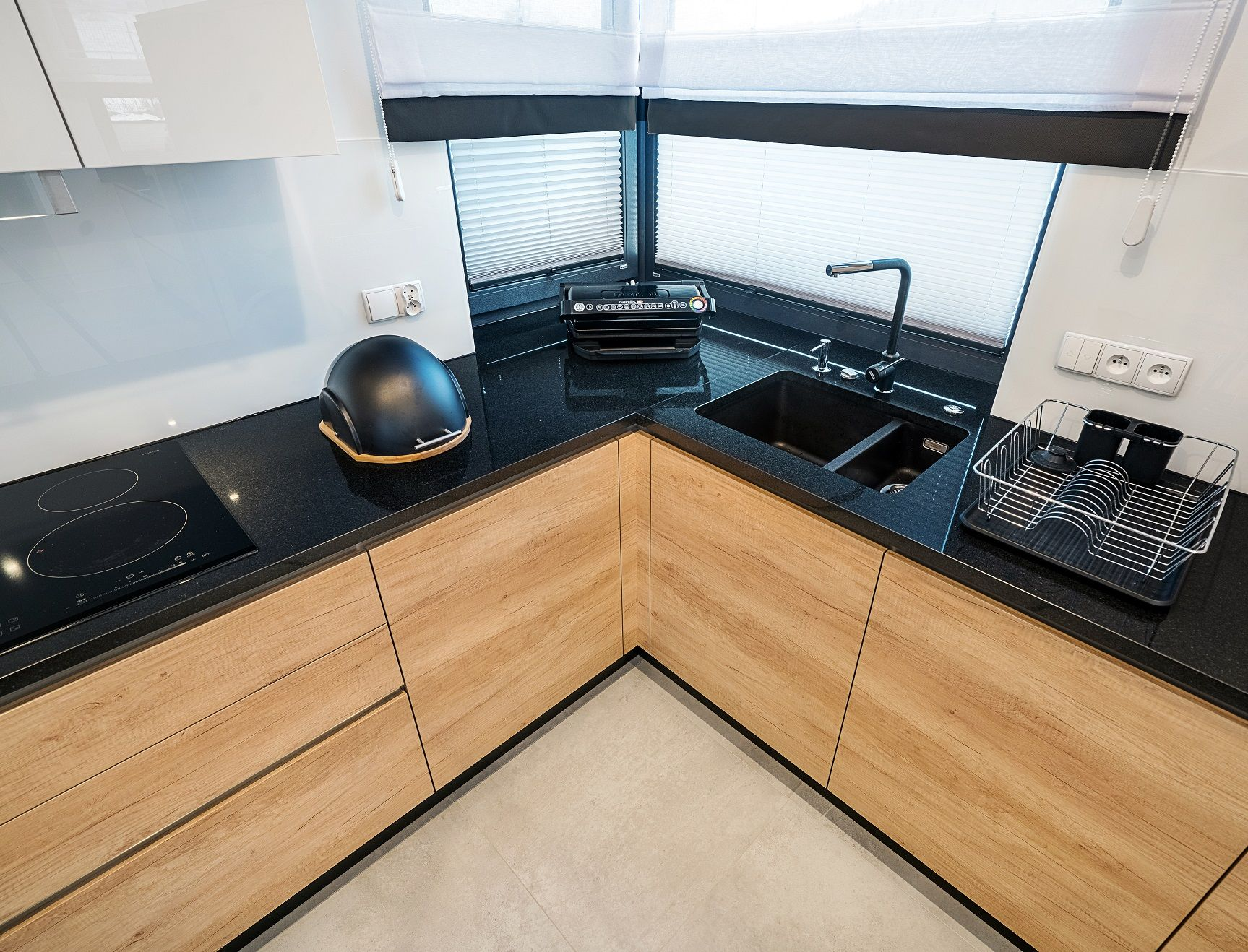 Granitowy Blat Rownowazy Cieply Odcien Frontow Kuchnia Aranzacja Design Kitchen Kitcheni Kitchen Decor Apartment Kitchen Furniture Design Kitchen Remodel