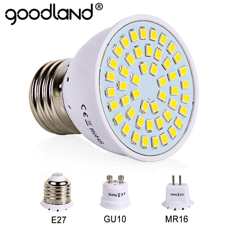 E27 Led Bulb Gu10 Led Lamp 220v Smd 2835 Mr16 Spotlight 48 60 80leds Warm White Cold White Lights For Home Decoration With Images Led Bulb E27 Led Mr16 Led Bulbs