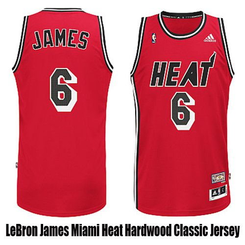 size 40 eed5d d464f LeBron James Miami Heat Hardwood Classic Jersey | Favorite ...