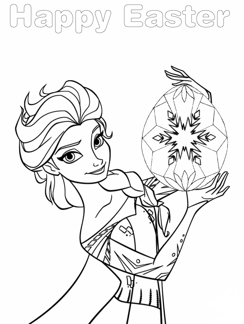 Pin By Pskpedia Com On Easter Coloring Pages Easter Coloring Pages Frozen Coloring Pages Frozen Coloring