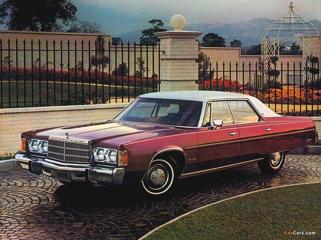 1976 Chrysler Newport Custom 4 Door Hardtop Maintenance