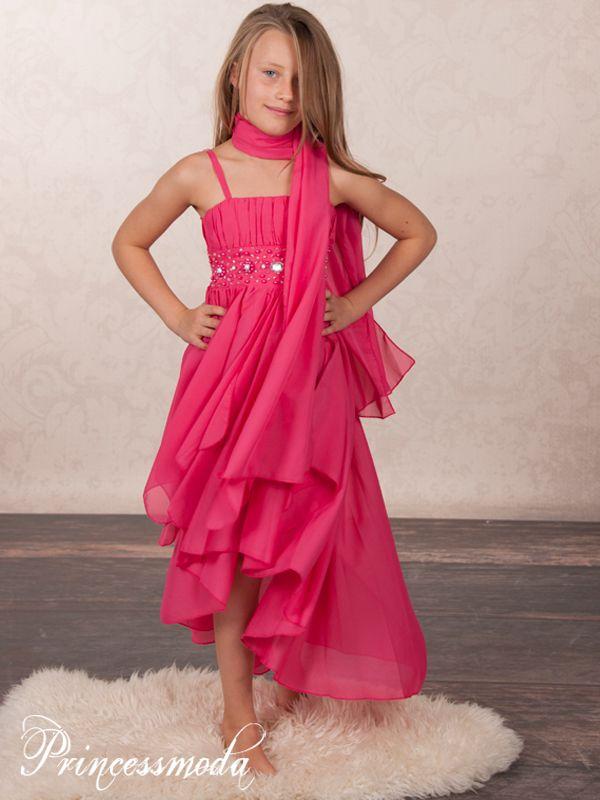 CHIARA - Traumhaftes Festkleid mit Stola - Alles für die ...