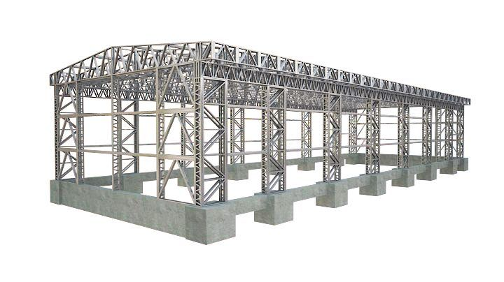 Industrial buildings foundation - Rotarex Steel Framing Factory ...