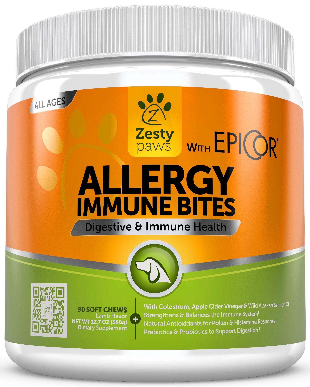 AllerImmune Bites™ Prebiotics, probiotics, Seasonal