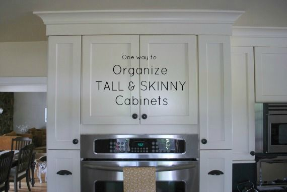 Day 9 Organize Tall And Skinny Kitchen Cabinets Kitchen Ideas