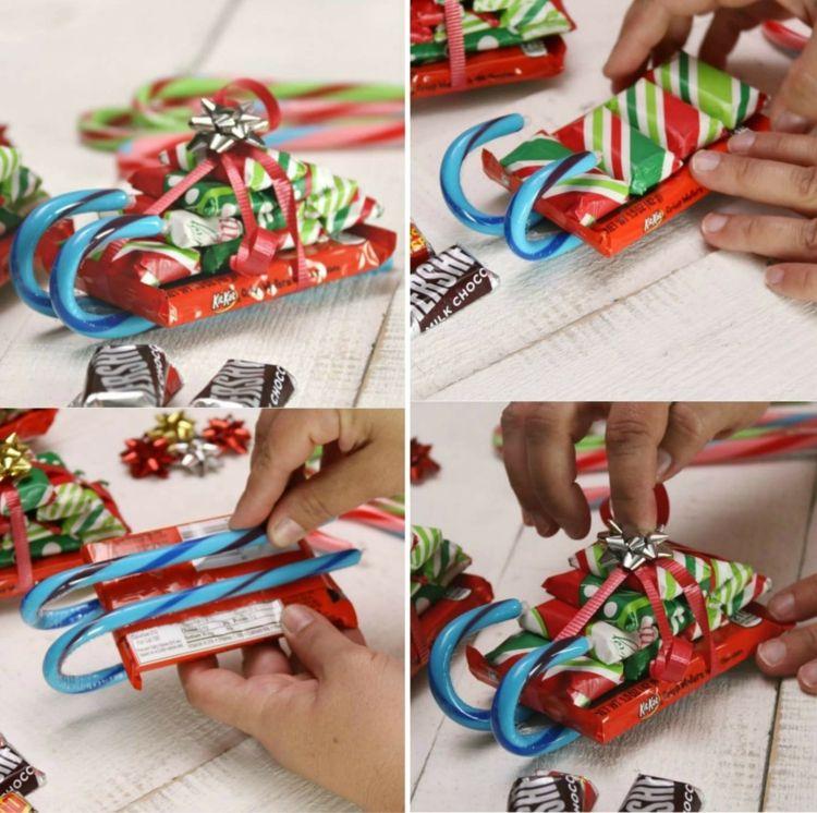Weihnachtsgeschenke Basteln.Weihnachtsgeschenke Basteln Mit Kindern In Der Schule Süßigkeiten