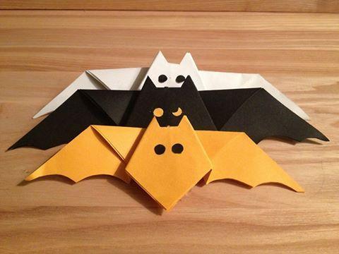 Origami Fledermäuse http://www.vtbt.de/nZBIk