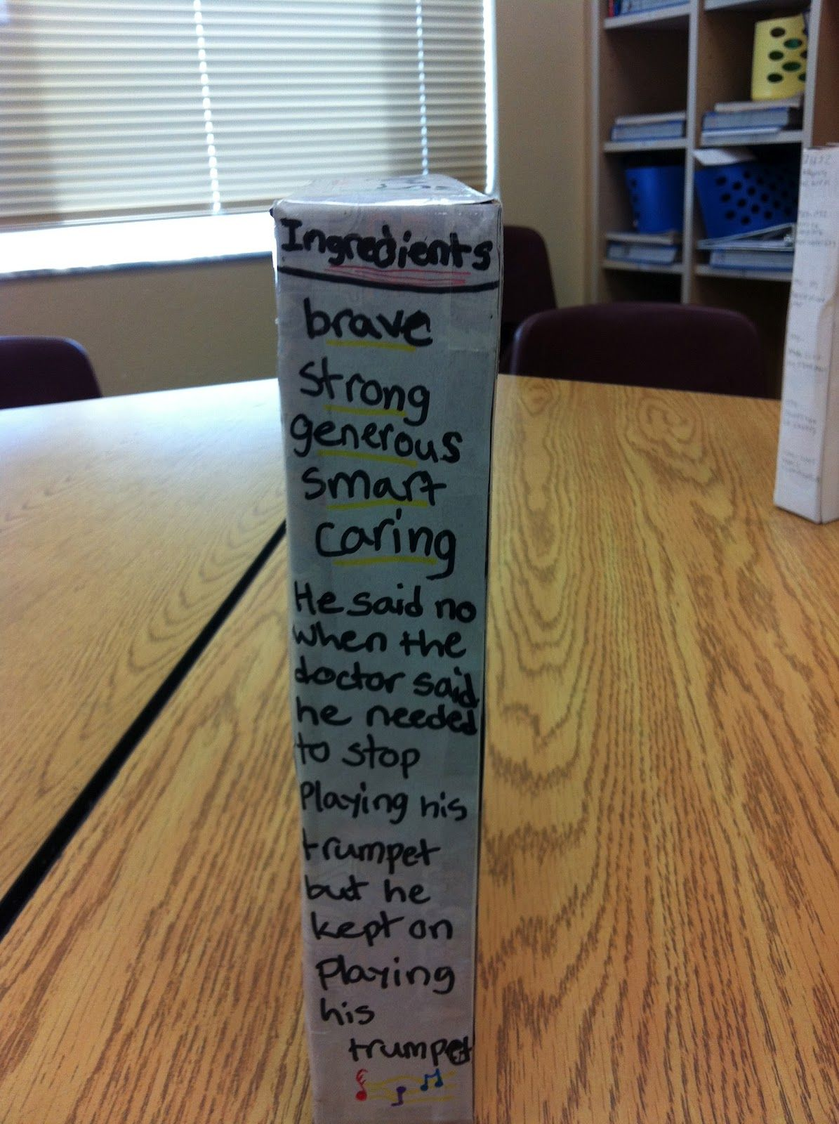 Simply Elementary Biography Cereal Box Project  Biographies