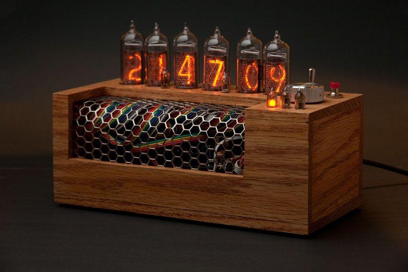 Nixie Clock IN-14 Kit no tubes Arduino Open Source