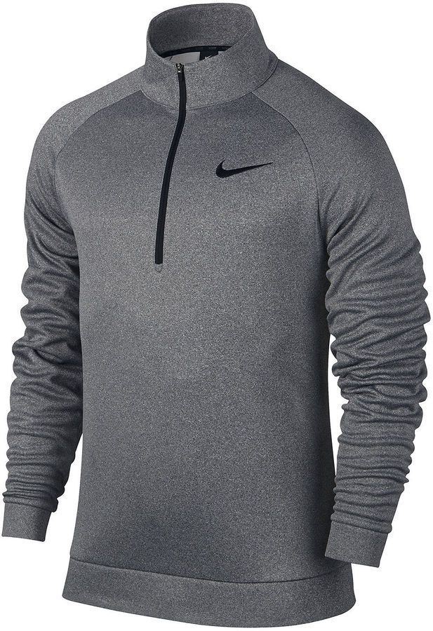 Adaptado País Contribución  Nike Quarter-Zip Pullover | Training tops, Nike men, Mens big and tall  shirts