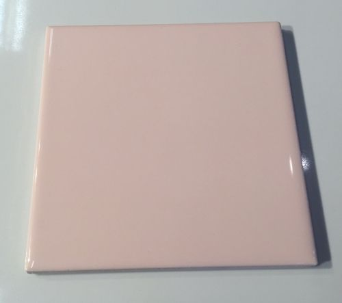 4 1 4 X 4 1 4 Metro Light Pink Ceramic Wall Tile Ceramic Wall Tiles Pink Ceramic Wall Tiles