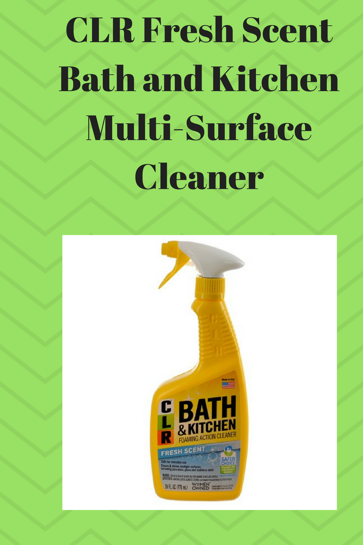 CLR Fresh Scent Bath and Kitchen Multi-Surface Cleaner helps remove ...