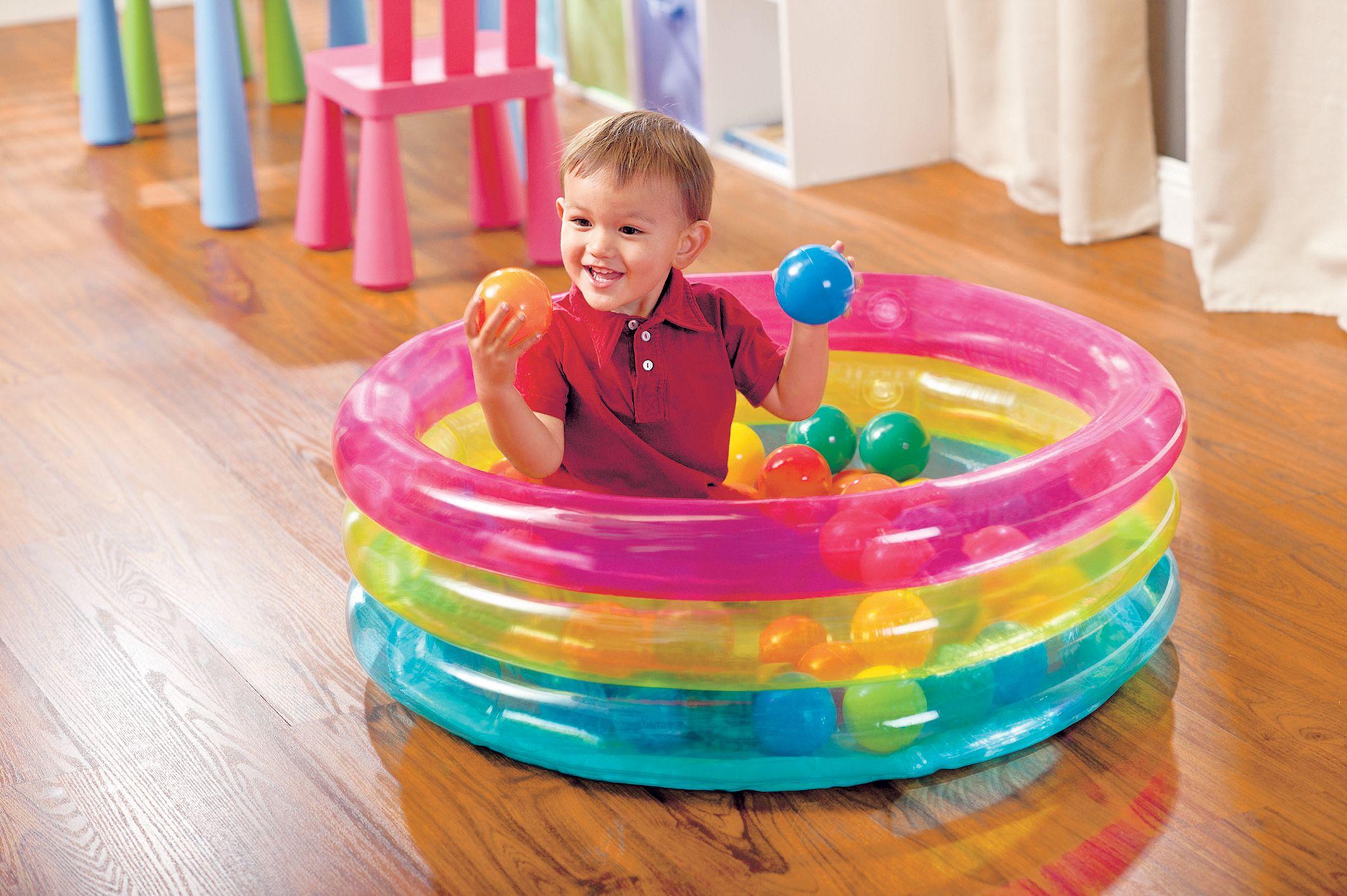 Centrakor Piscine A Balles Pour Enfants De 1 A 3 Ans Avec