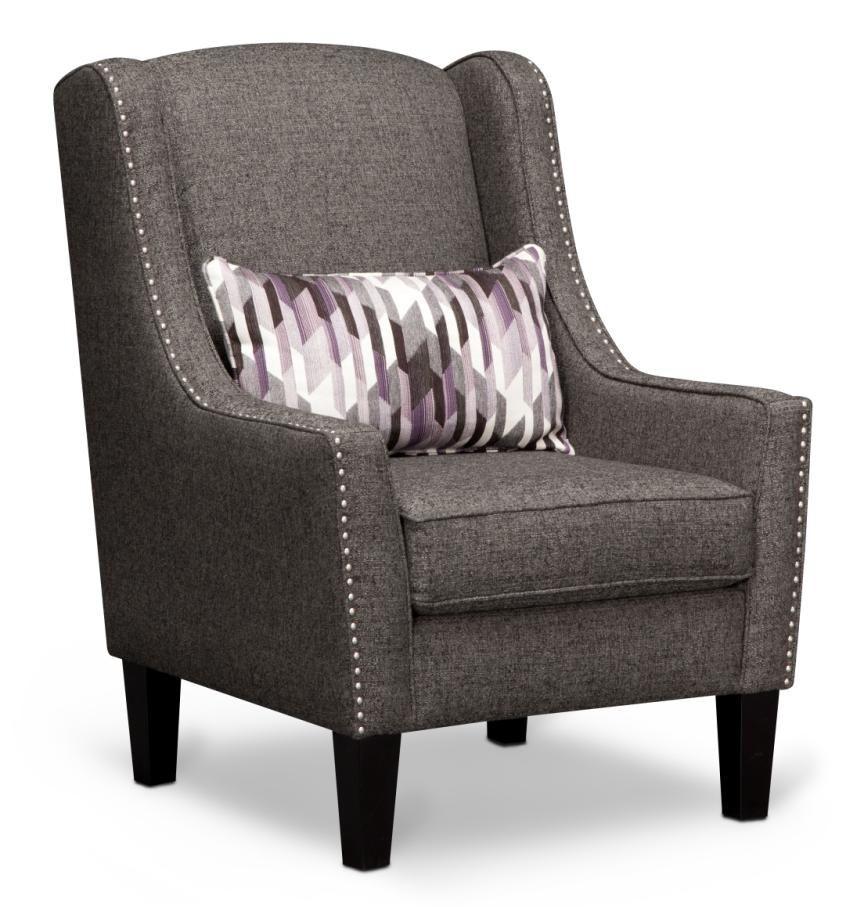 The Nailhead Trim On Our Ritz Chair Is So Sleek