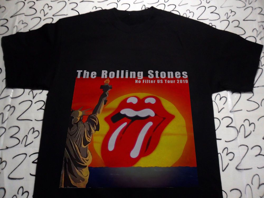 0cb7b9499a6660 New The Rolling Stones No Filter US Tour 2019 Shirt  fashion  clothing   shoes