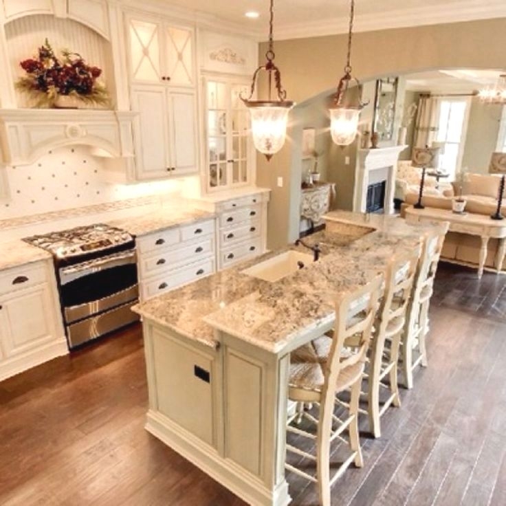 30 Brilliant Kitchen Island Ideas That Make A Statement: The Direction You Use Your Kitchen Can Create A Statement