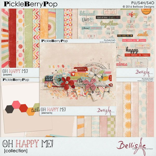 OH HAPPY ME | collection by Bellisae Designs