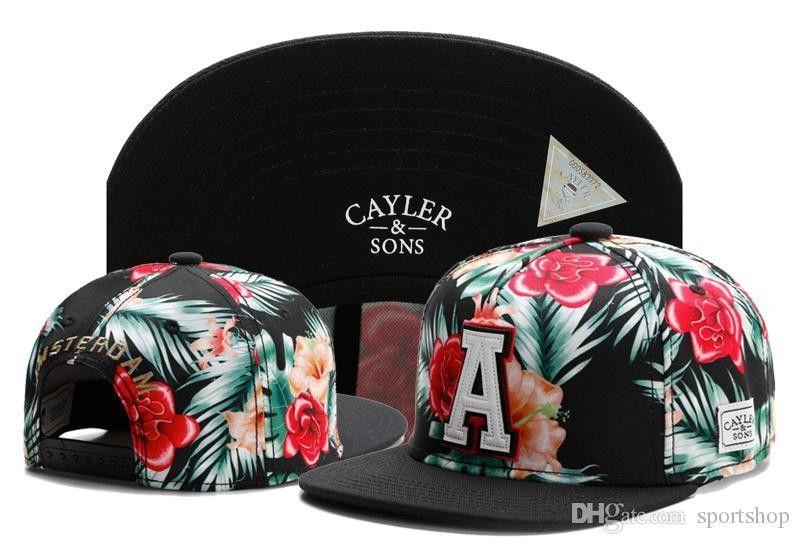 e9d41529c33 Cayler   Sons snapback A Rose floral