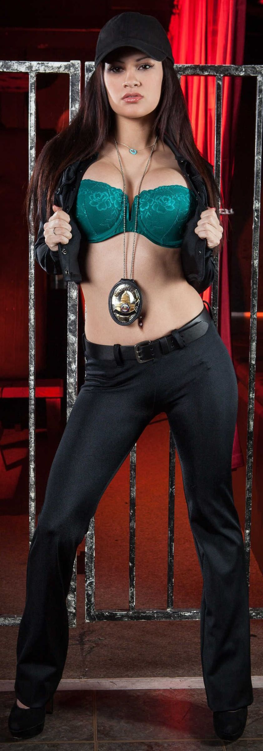 Cop and pornstar