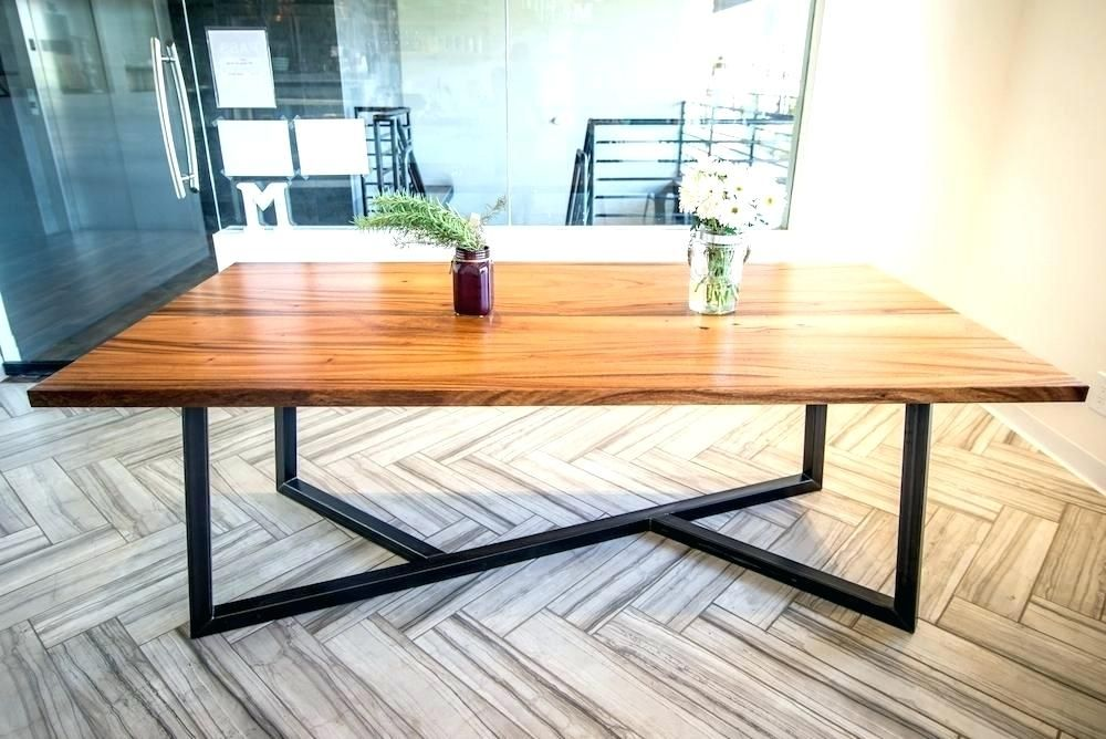 Wood And Iron Dining Table Wood And Metal Table Exquisite Dining Room Plans Enthralling Mode Metal Dining Table Metal Base Dining Table Metal Wood Dining Table