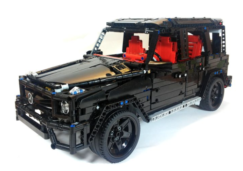 lego technic g63 amg creations pinterest lego spielzeug und modellbau. Black Bedroom Furniture Sets. Home Design Ideas